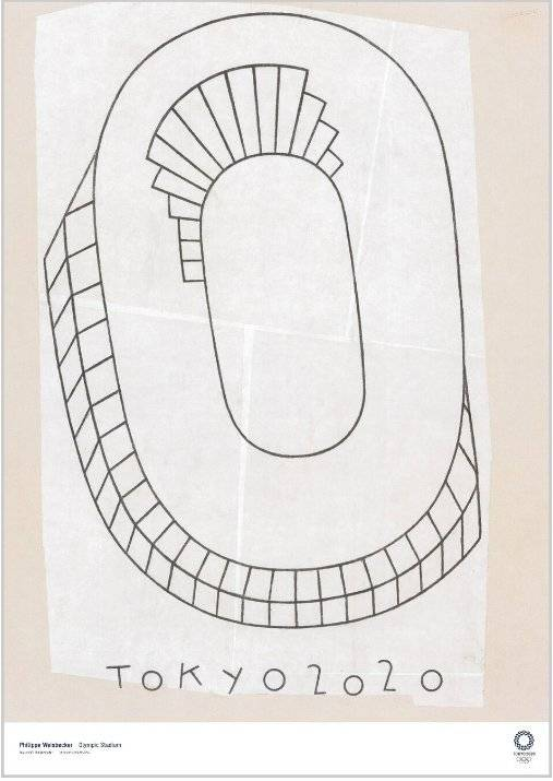 """Olympic Stadium"", de Philippe Weisbecker Reprodução"