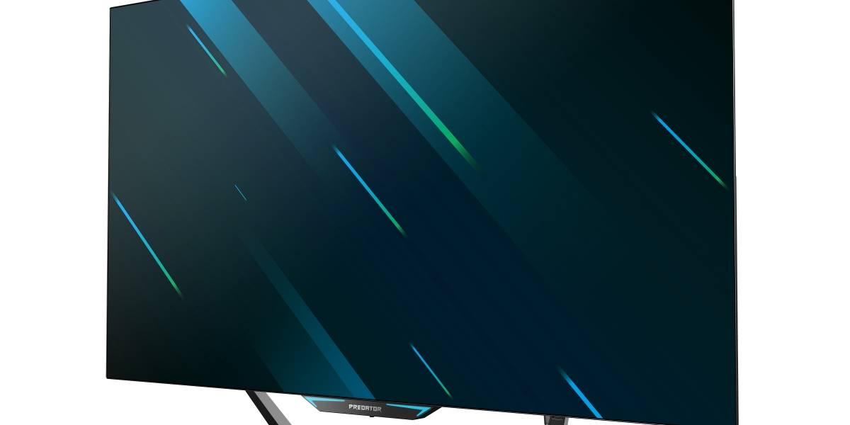 Acer faz lançamento ousado de três novos monitores de jogos Predator com exibição expansiva