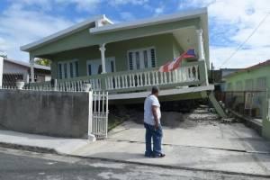 Colapsan estructuras en Guayanilla tras temblor de Día de Reyes