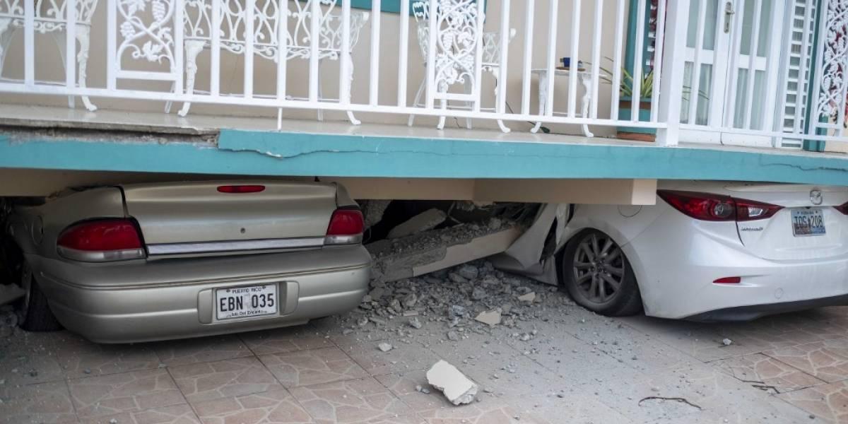 Fuerte sismo provoca daños y cortes de luz en Puerto Rico