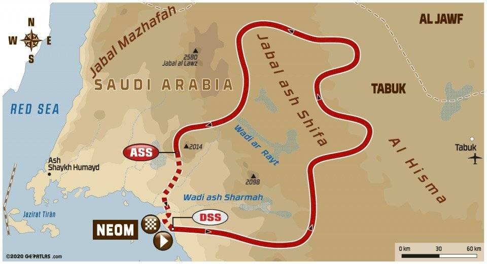 Tercera etapa del Rally Dakar