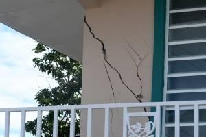 Daños en Guánica luego de terremoto del Día de Reyes