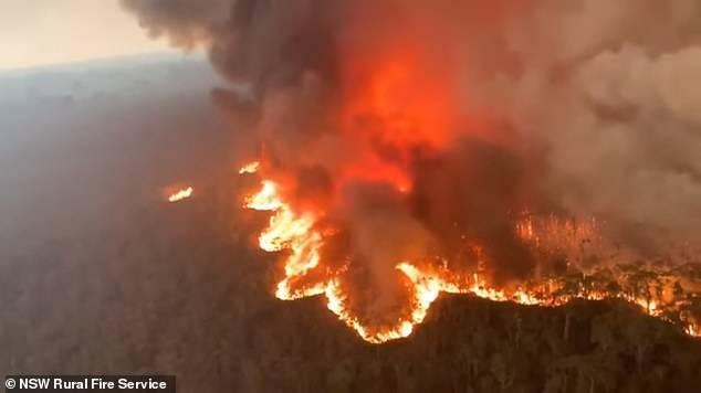 Australia fuego