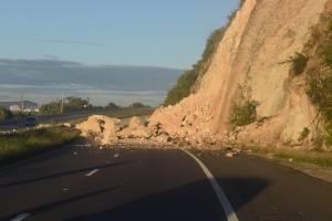derrumbe en Ponce tras terremoto