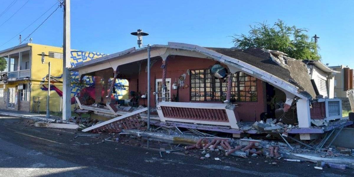 Colapsan 50 residencias en Guánica por temblores