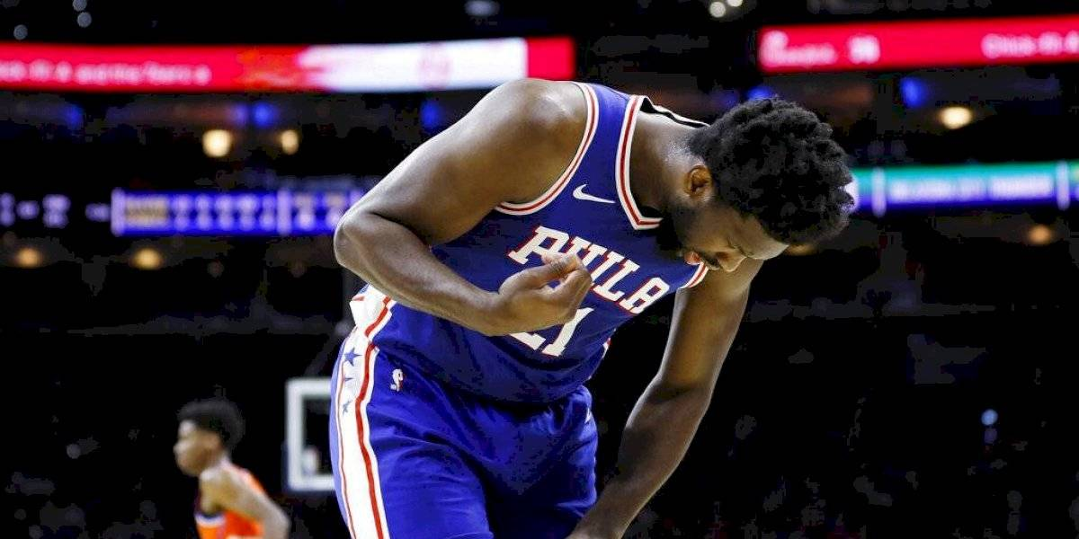 """""""Estuve a punto de vomitar cuando lo vi"""": Fractura de dedo de Joel Embiid provoca impacto en la NBA"""