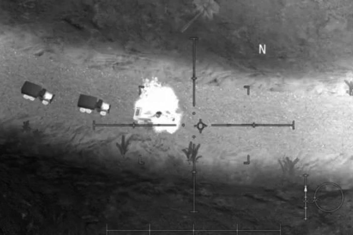 "Video del ataque con drones contra el general Soleimani es ""fake"""