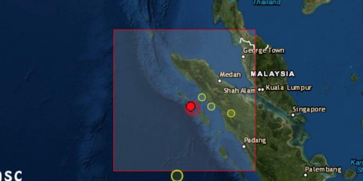 Un sismo de magnitud 6,2 sacude el noroeste de Indonesia