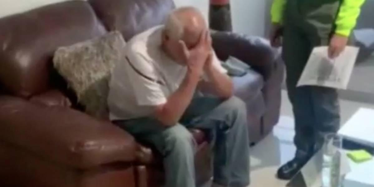 (Video) Peligroso narco cayó porque se metió con la esposa de su hijo y este lo delató