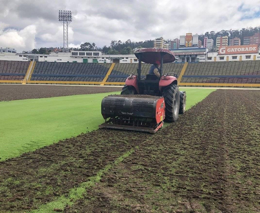 Remodelación del Estadio Olímpico Atahualpa