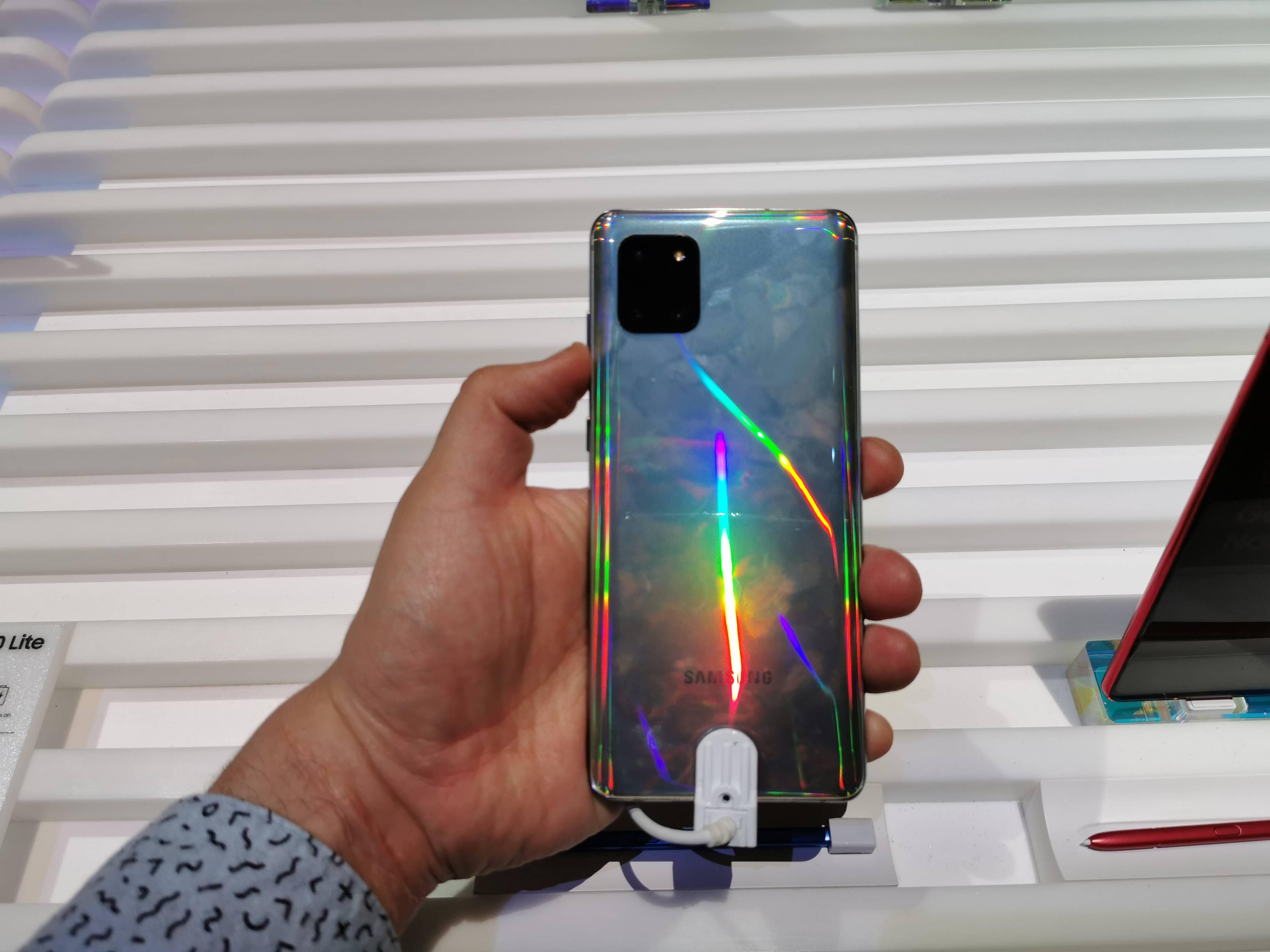 Primeras impresiones del Samsung Note 10 Lite y S10 Lite #CES2020