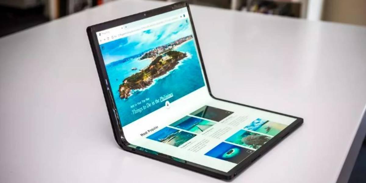Intel incluye una enorme pantalla plegable en su nuevo prototipo: la Horseshoe Bend #CES2020