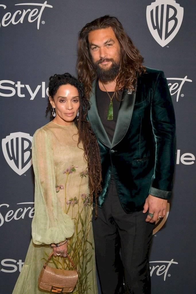 Lisa Bonet e Jason Momoa