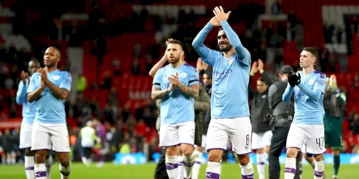 Manchester City humilla al United en la Copa de la Liga