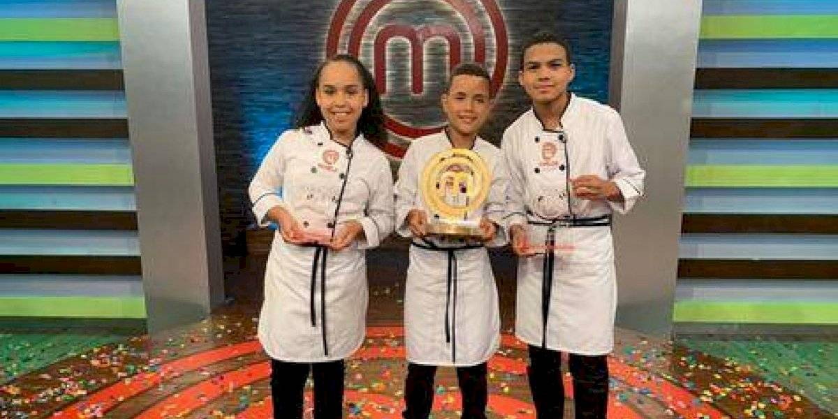 "Radhamés Flores ganó primer lugar concurso ""Masterchef Junior RD"""