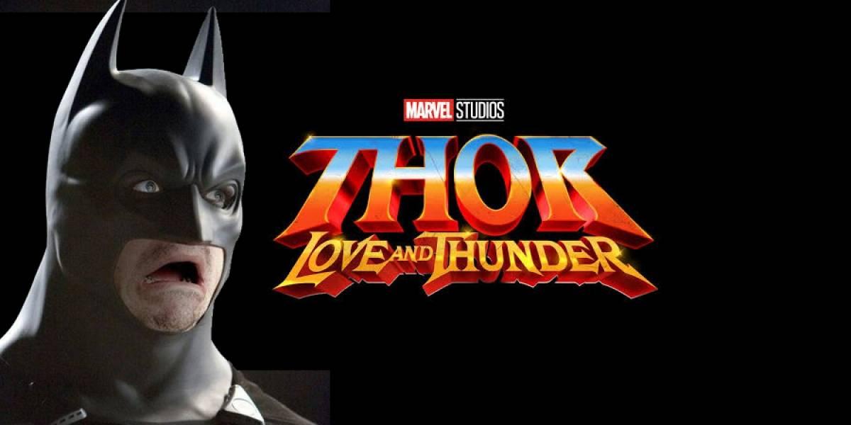 Thor: Love and Thunder podría fichar a Batman, bueno, a Christian Bale