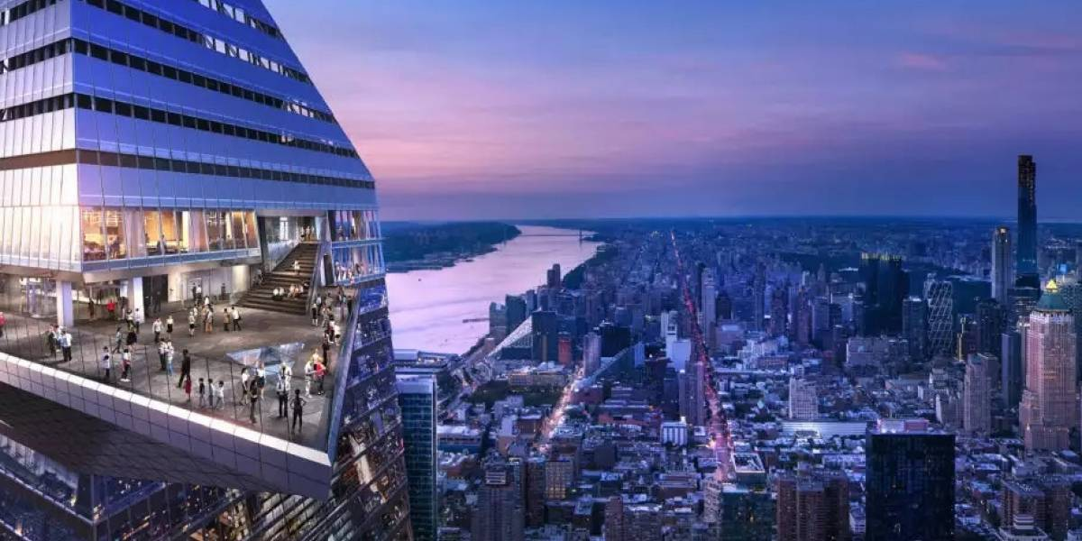 Nova York terá o mirante mais alto do Ocidente