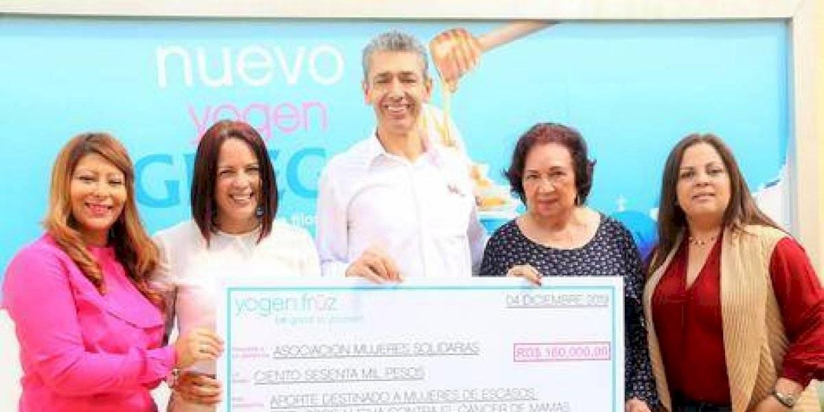 #TeVimosEn: Yogen Früz entrega donativo anual a Asociación de Mujeres Solidarias