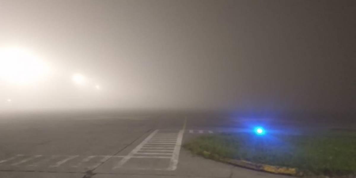 Vuelos se ven afectados por presencia de neblina en el aeropuerto La Aurora