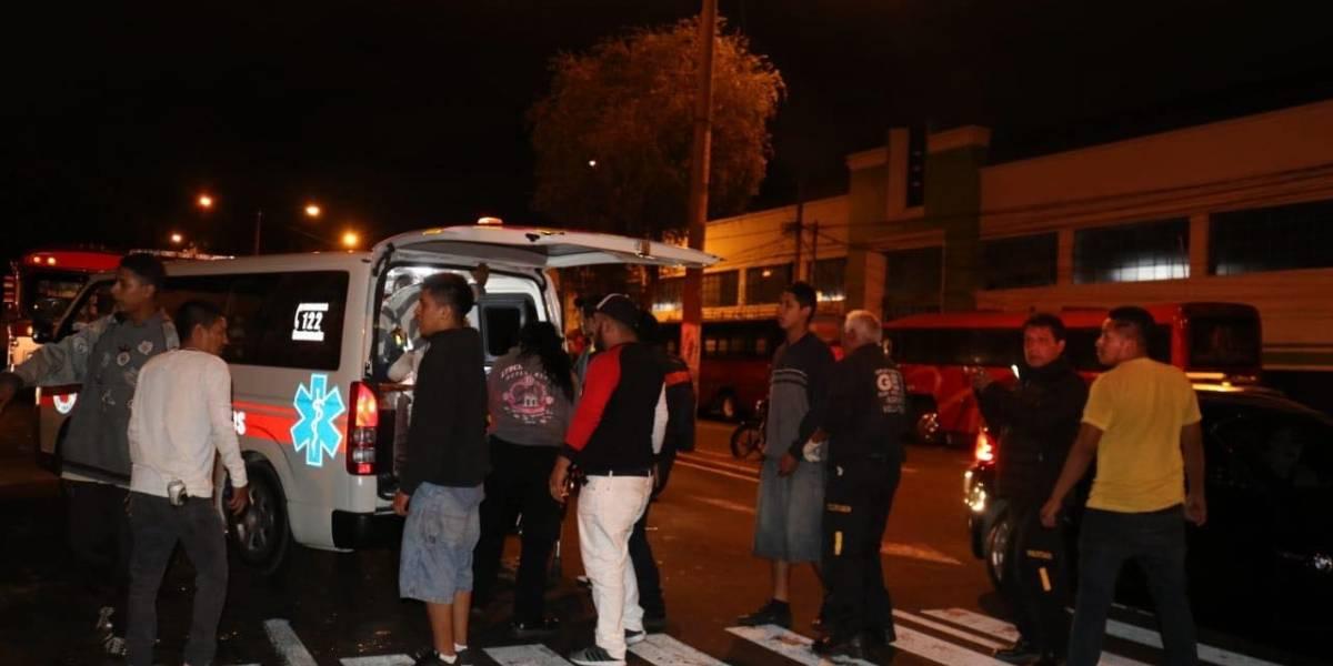 VIDEO. Atacan a balazos a pilotos de buses en la Avenida Elena