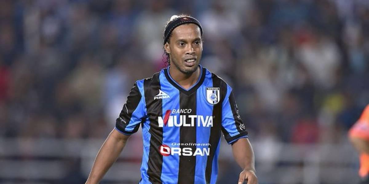 Ronaldinho recuerda con cariño el futbol mexicano