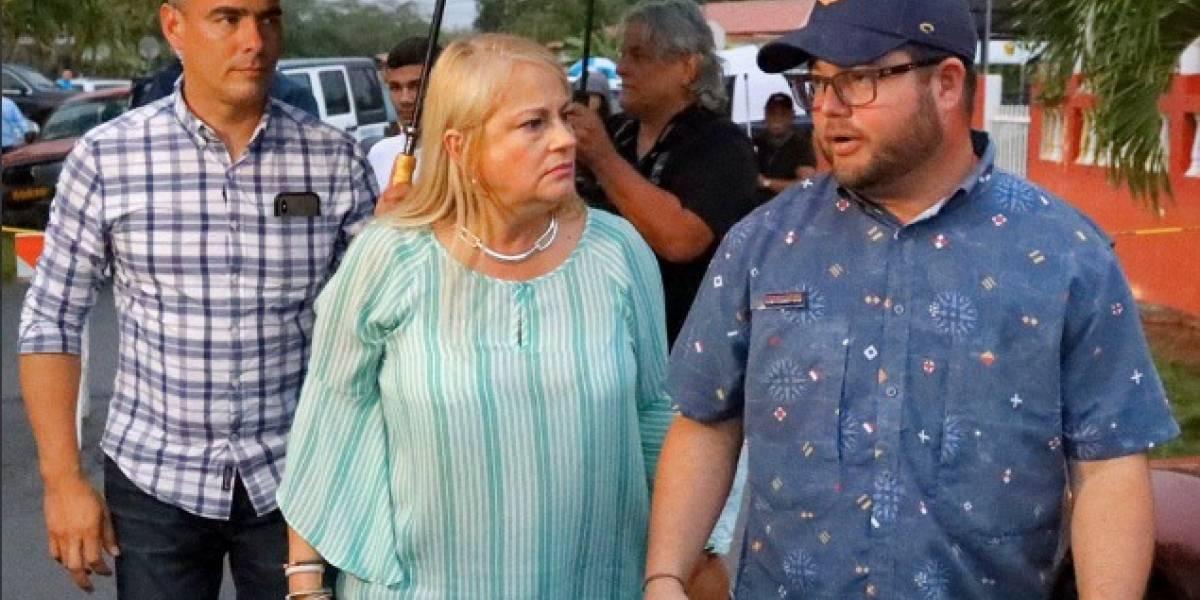 Gobernadora Wanda Vázquez pide a los puertorriqueños que mantengan la calma