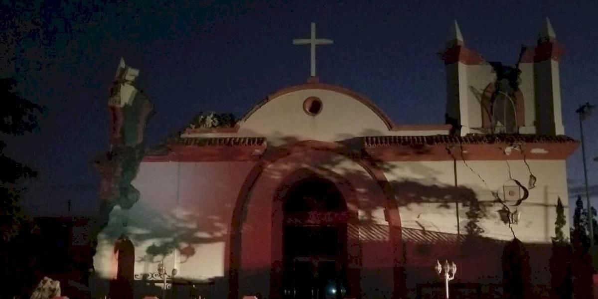 Iglesia sufre severos daños y cae edificio en Guayanilla