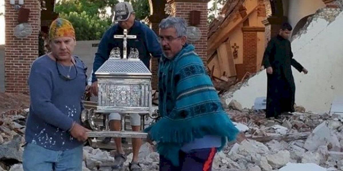 Impactante imagen tras derrumbe en Iglesia de Guayanilla se hace viral