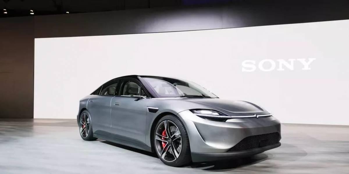 Sony sorprende con un auto eléctrico llamado Vision-S #CES2020