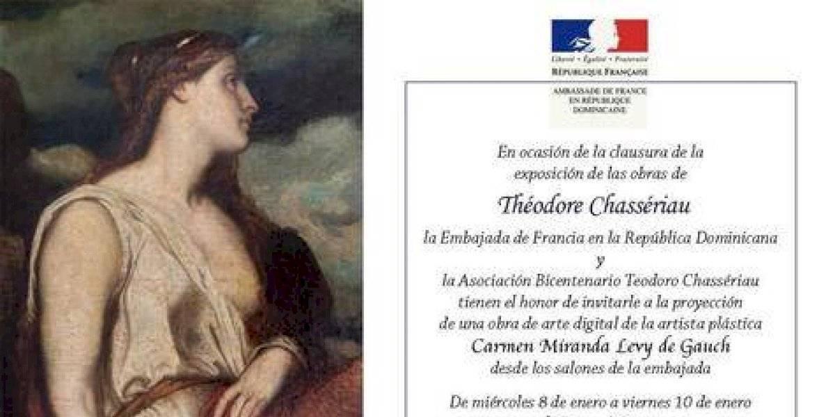 Clausura exposición Theodore Chassereau será este viernes 10
