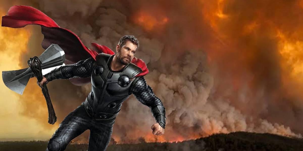 Chris Hemsworth dona una millonada para combatir incendios en Australia