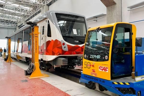Cocheras Metro de Quito 2020