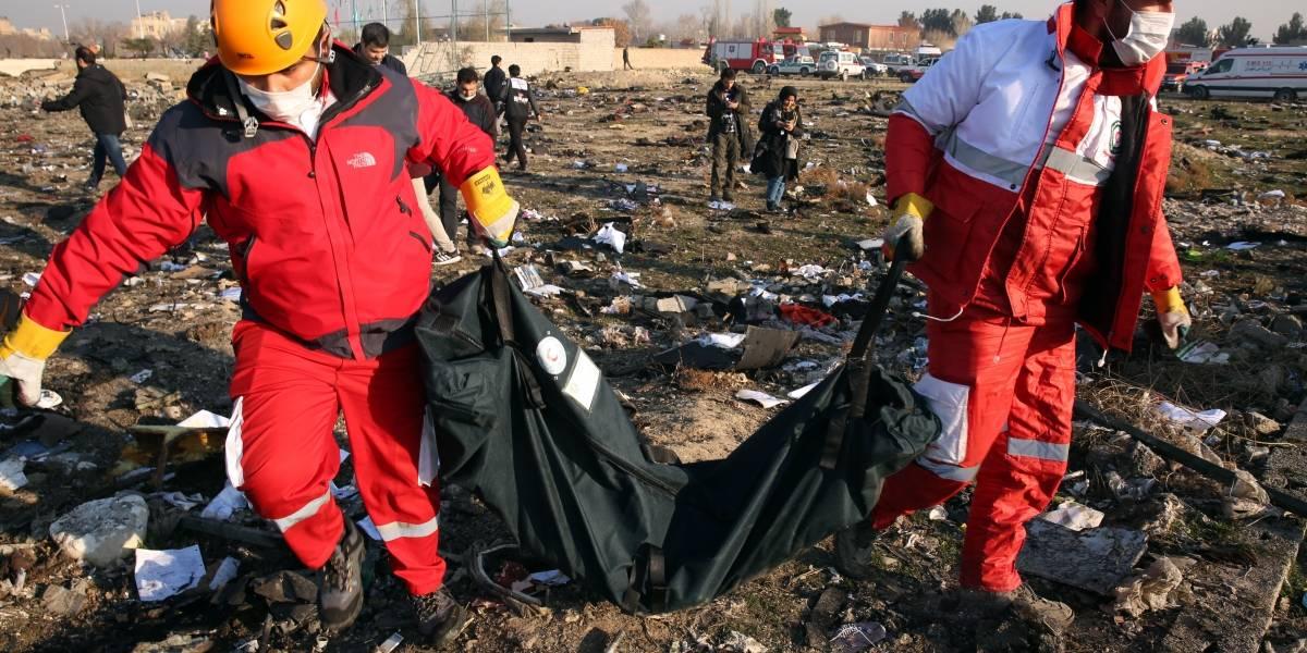 """Irán reconoce que derribó por """"error"""" el avión ucraniano"""
