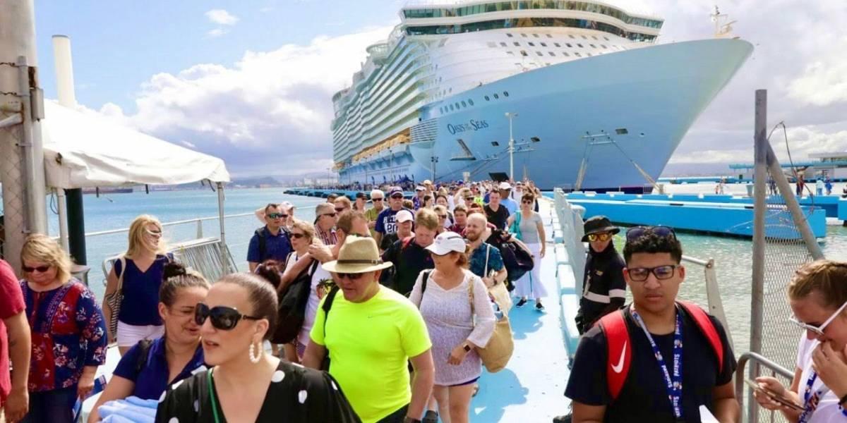 Cerca de 15 mil cruceristas llegaron al VSJ