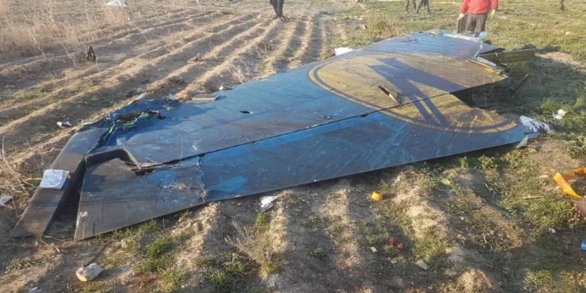 Avião ucraniano cai no Irã e 176 pessoas morrem