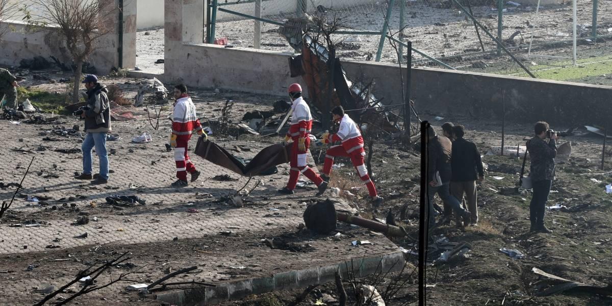 Video: Al menos 170 personas fallecidas por tragedia de avión en Irán