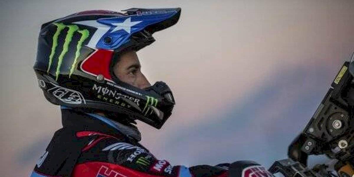 José Ignacio Cornejo ratifica que está para cosas grandes al ganar la etapa y meterse en el podio del Dakar