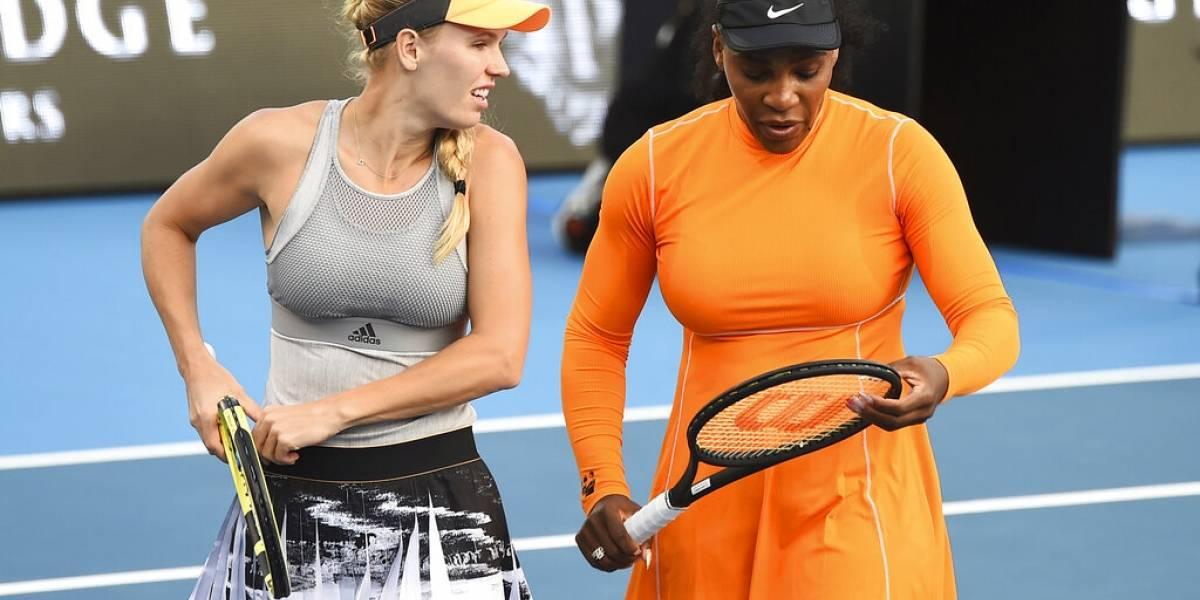 Dupla Williams-Wozniacki avanza a semifinales en Auckland