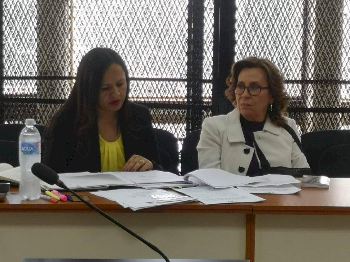 audiencia de arresto domiciliario de Sandra Torres