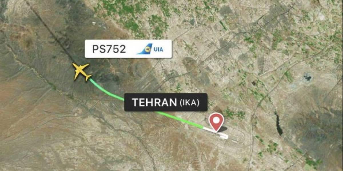 Video: Accidente de avión ucraniano en Teherán deja 180 muertos