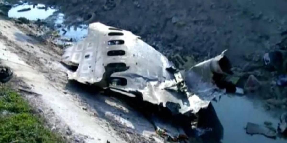 176 personas murieron en avión ucraniano que se estrelló en Teherán, Irán