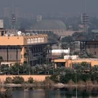 Dos cohetes impactaron cerca de la Embajada de EE.UU. en Bagdad