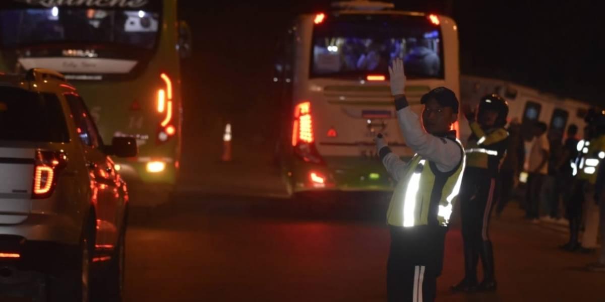 AMT: Habilitada la circulación vehicular sobre la avenida Simón Bolívar en ambos sentidos