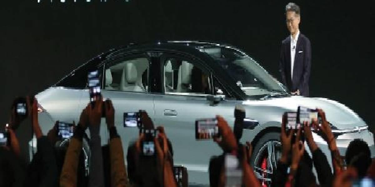 CES 2020: Sony sorprende con auto eléctrico llamado Vision-S
