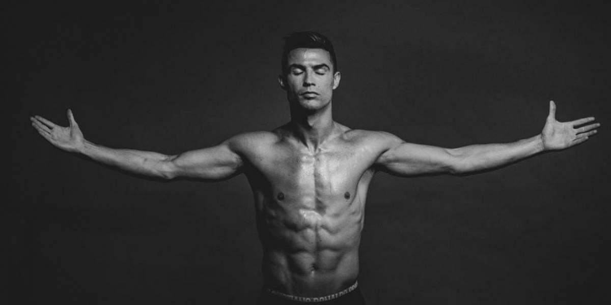Cristiano Ronaldo presume su gran estado físico