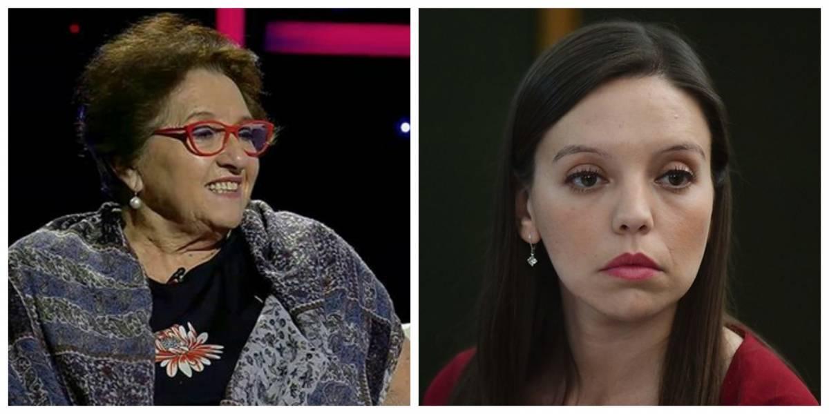 """Doctora Cordero barre con Camila Flores: """"La encuentro tan nefasta, tan espantosa"""""""