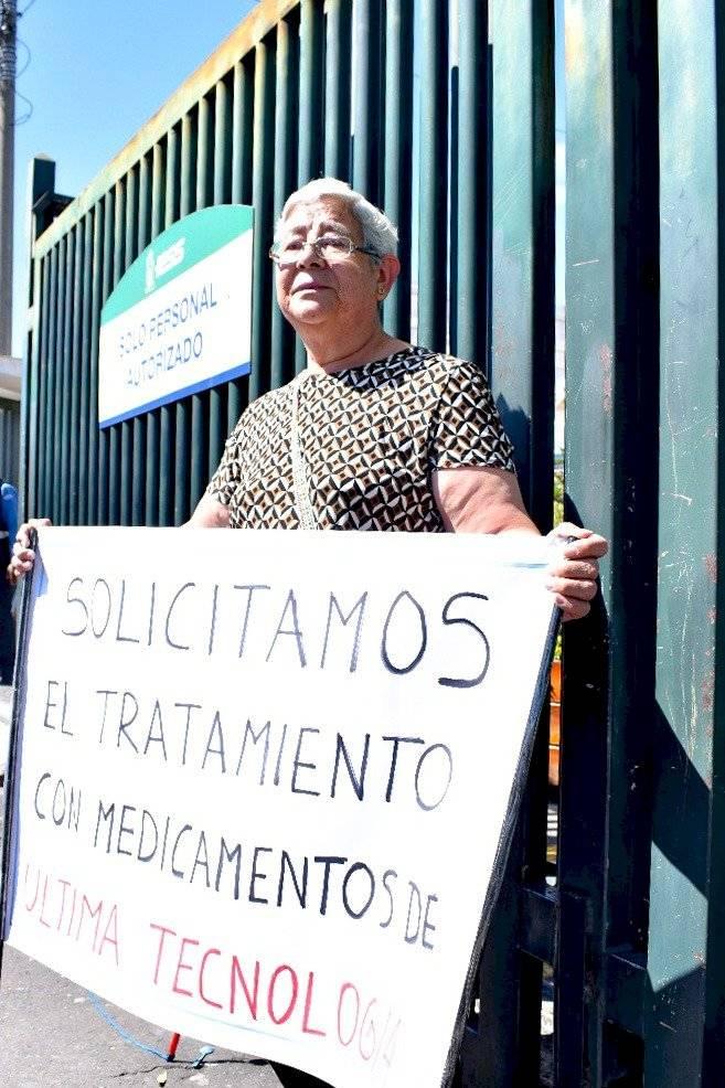 Elizabeth Molina, familiar de paciente con Hemofilia