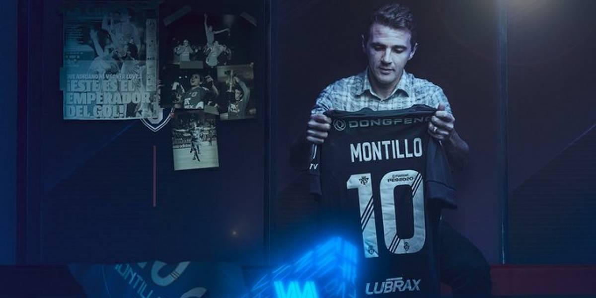 """""""Bienvenido a tu casa"""": La U oficializó el esperado arribo de Walter Damián Montillo"""