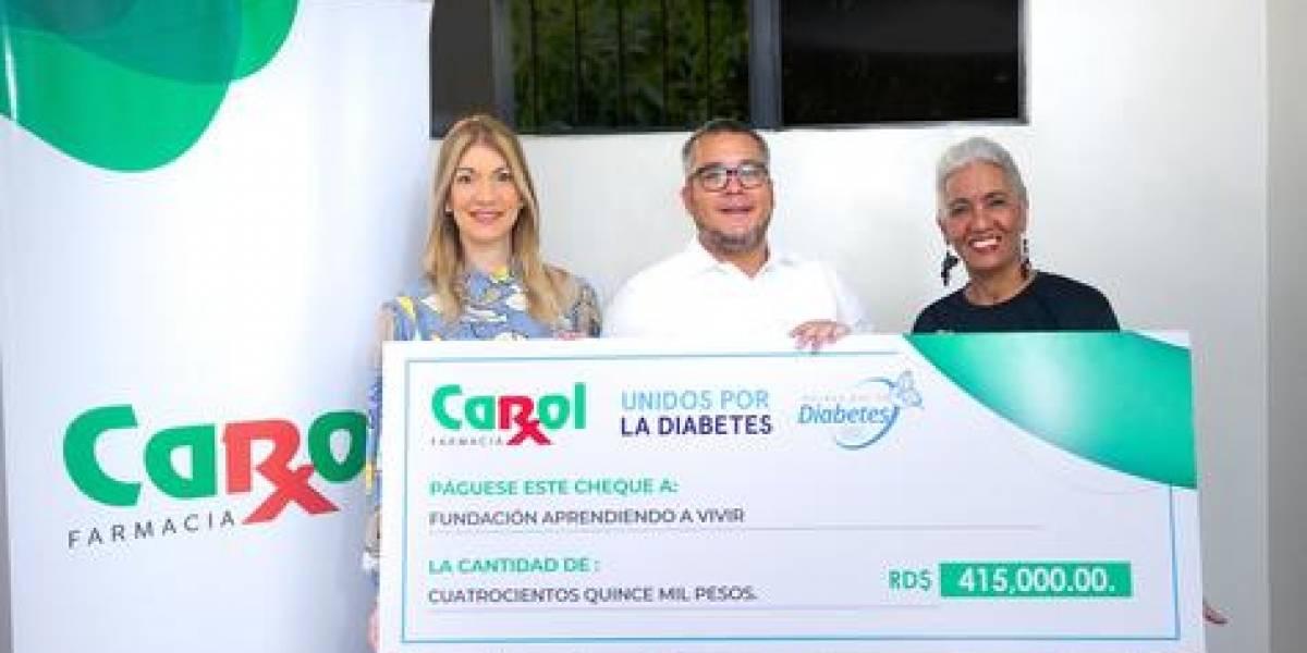 #TeVimosEn: Farmacia Carol entrega fondos a fundación