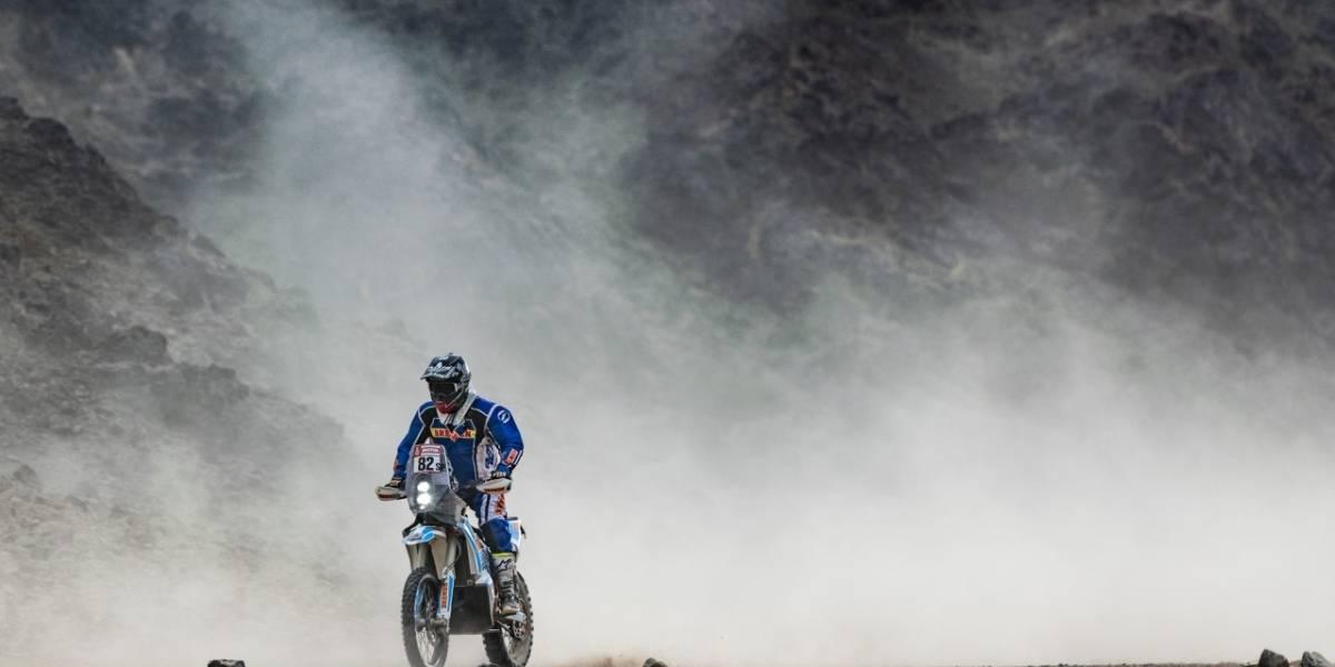 Francisco Arredondo asciende tres posiciones en clasificación general del Dakar 2020